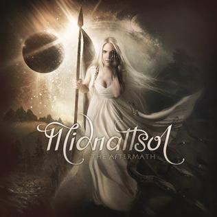midnattsol the aftermath album cover