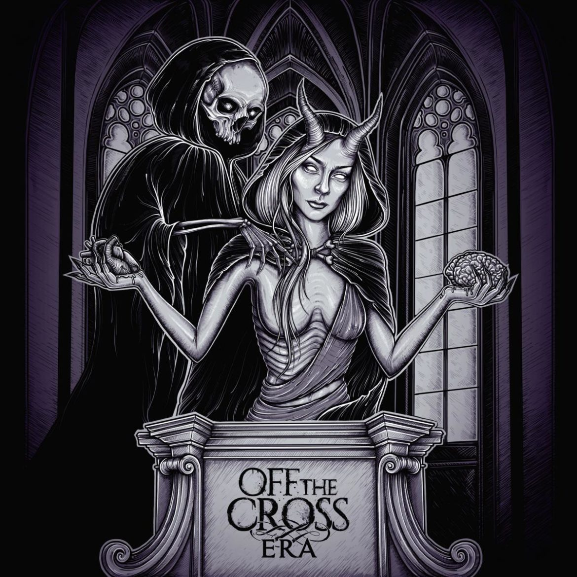 off the cross era album cover