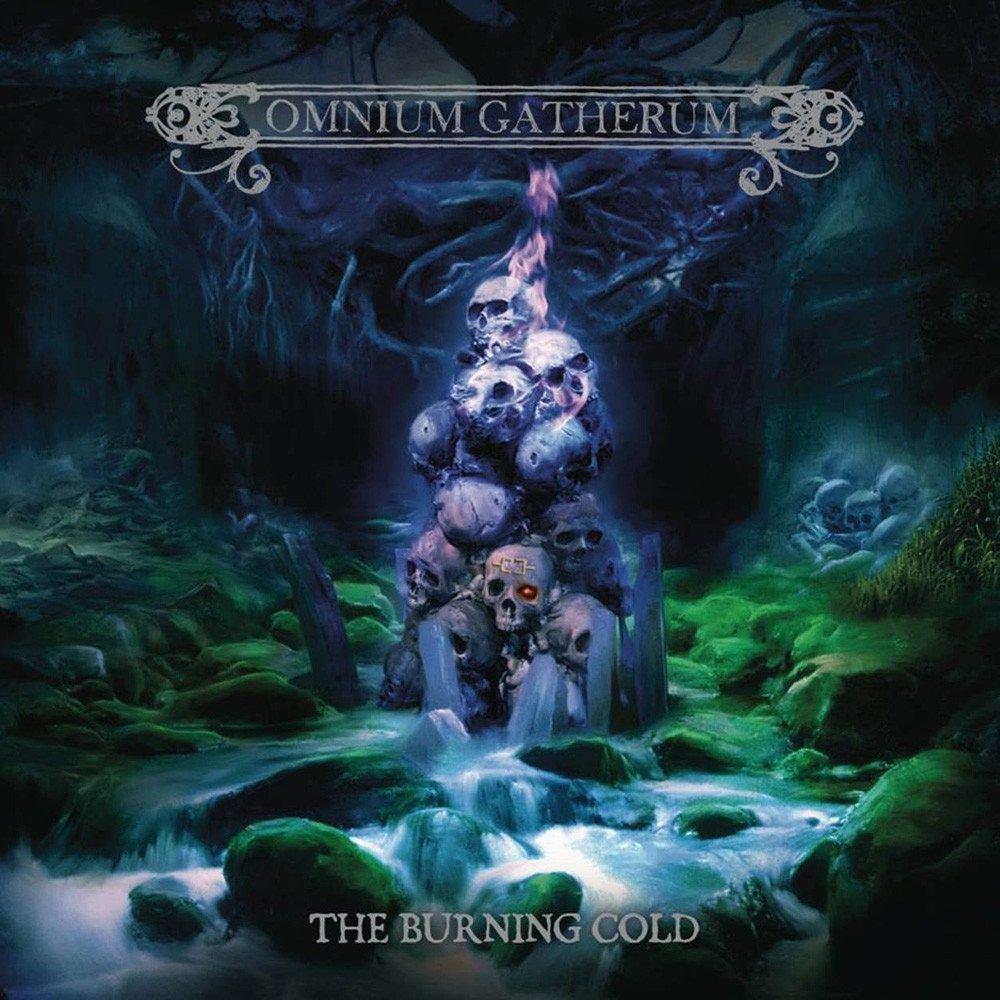 omnium gatherum the burning cold album cover