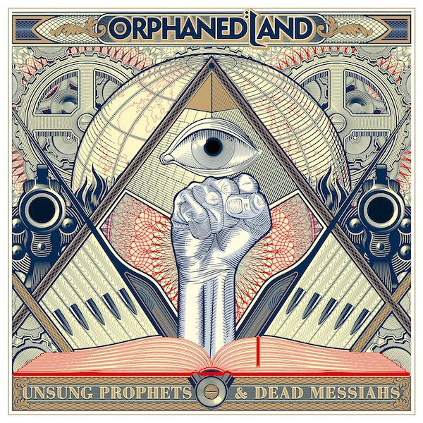 orphaned land unsung heroes and dead messiahs album cover