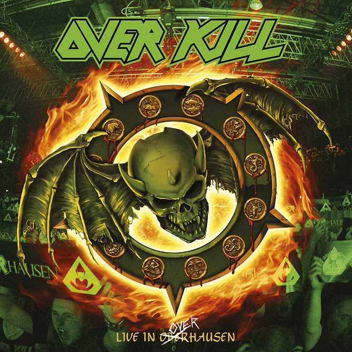 overkill live in oberhausen album cover