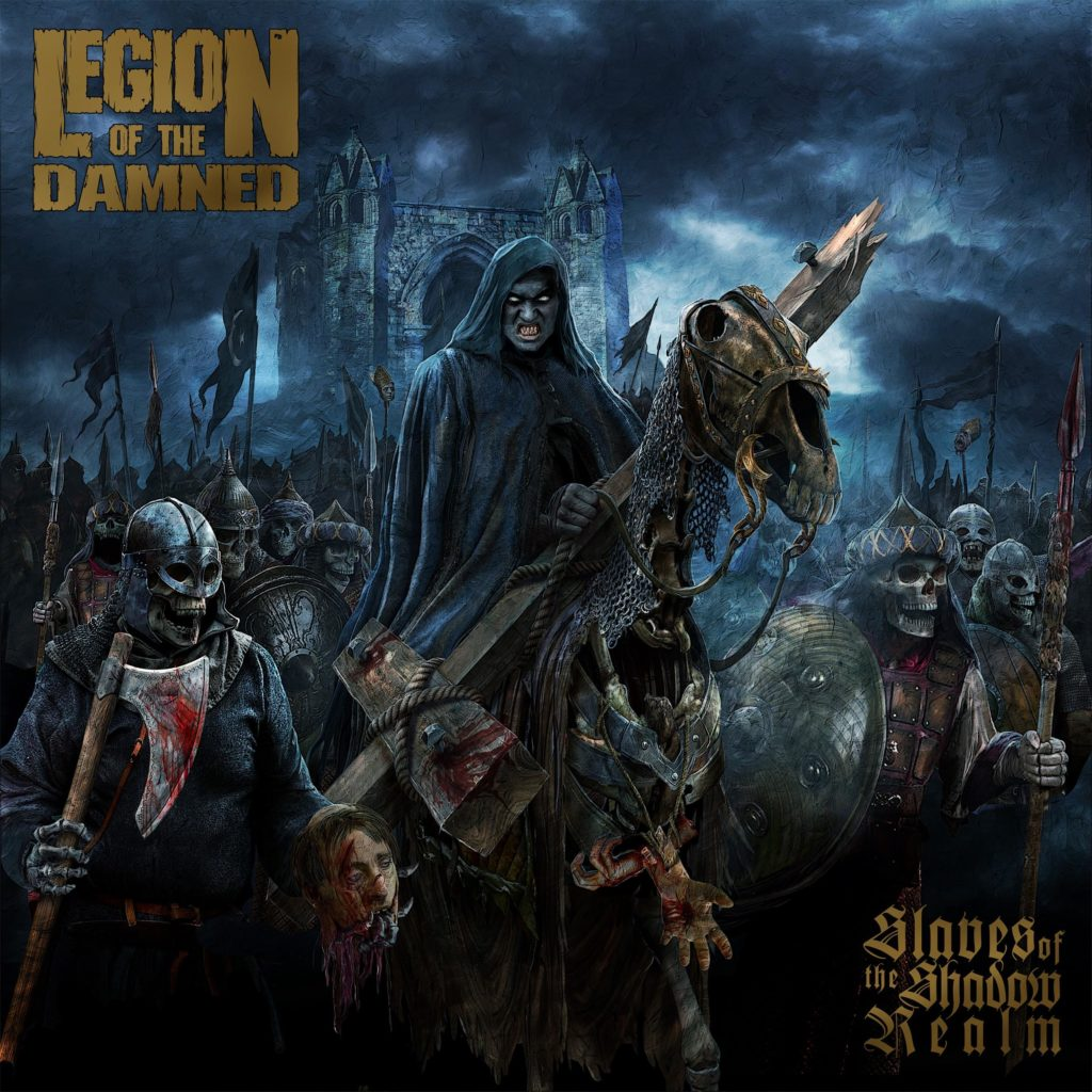 legion of the damned slaves of the shadow realm album cover