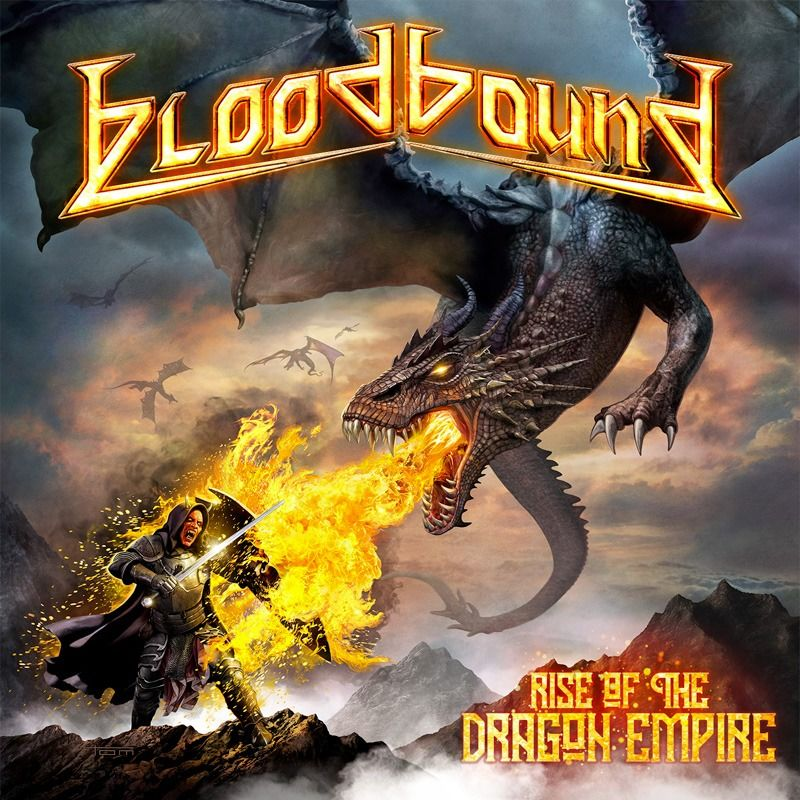 bloodbound rise of the dragon empire album cover