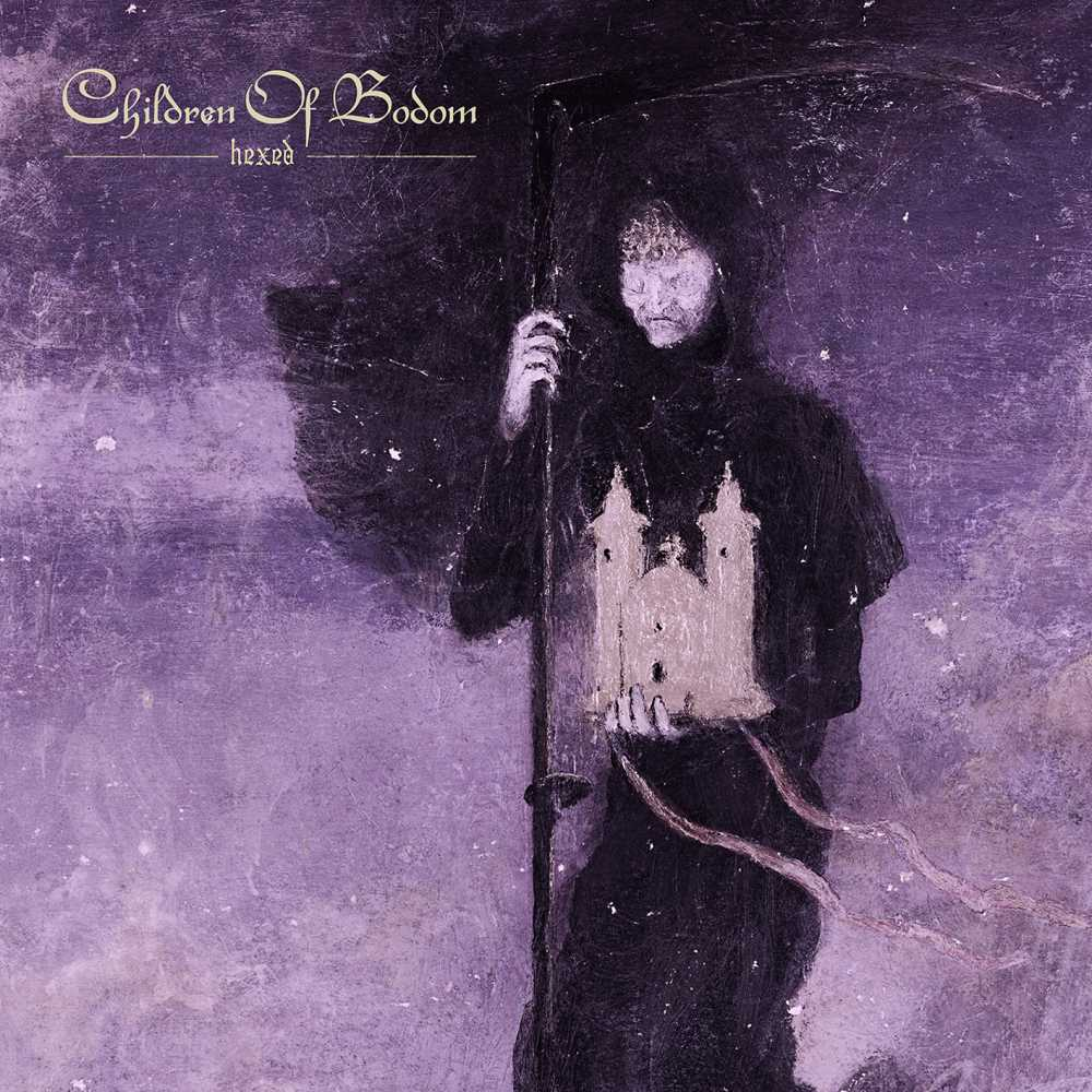 children of bodom hexed album cover