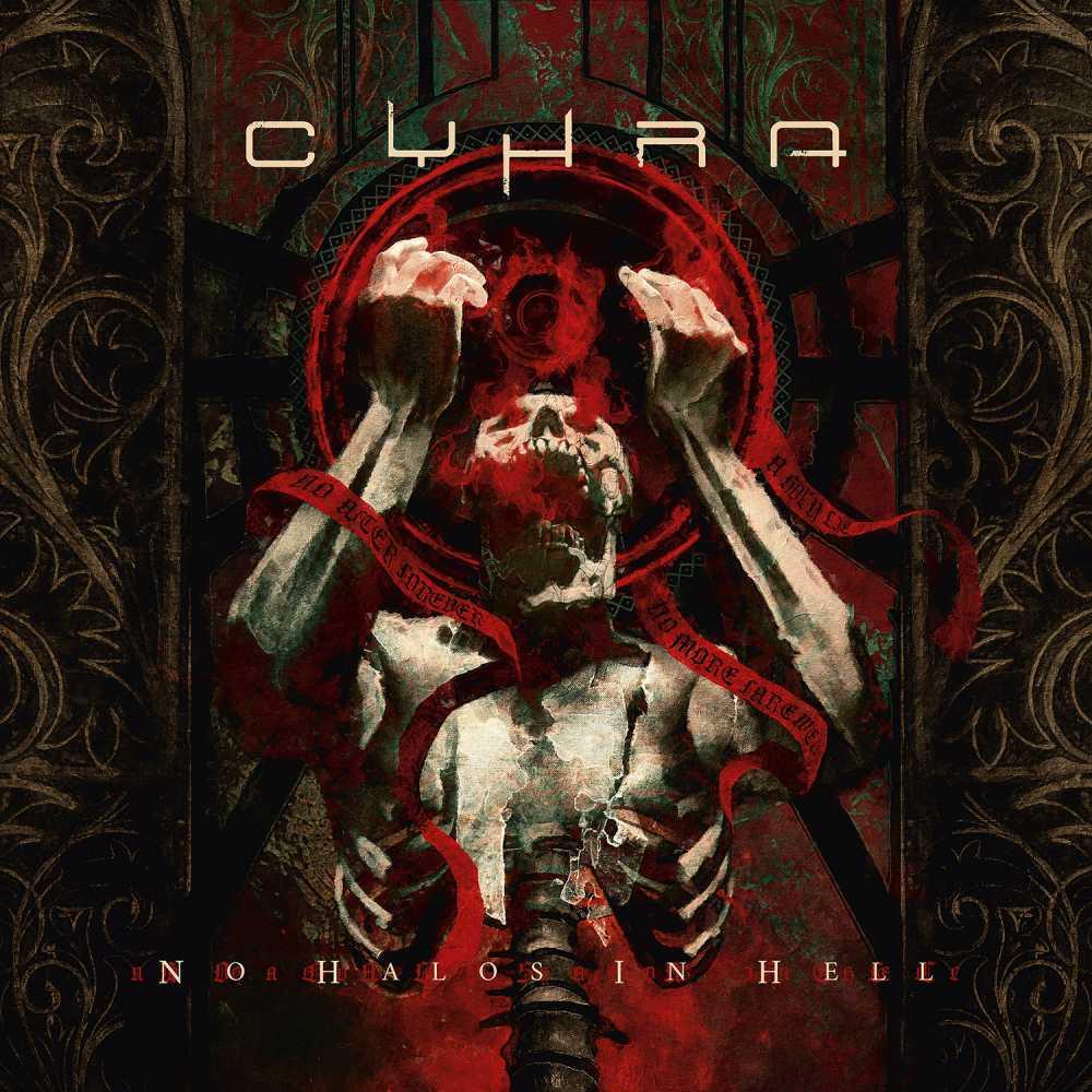 cyhra no hales in hell album cover