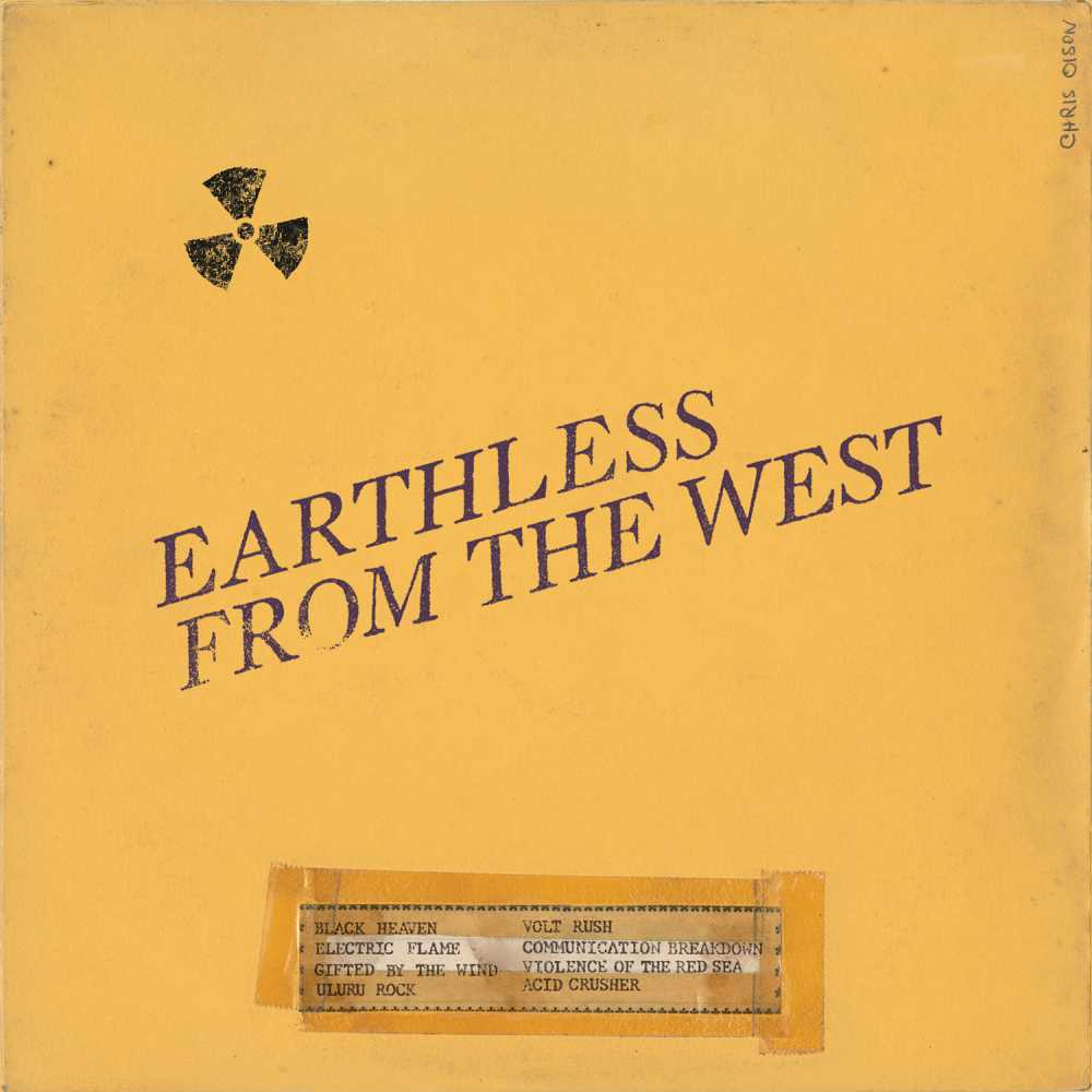 earthless from the west live album cover