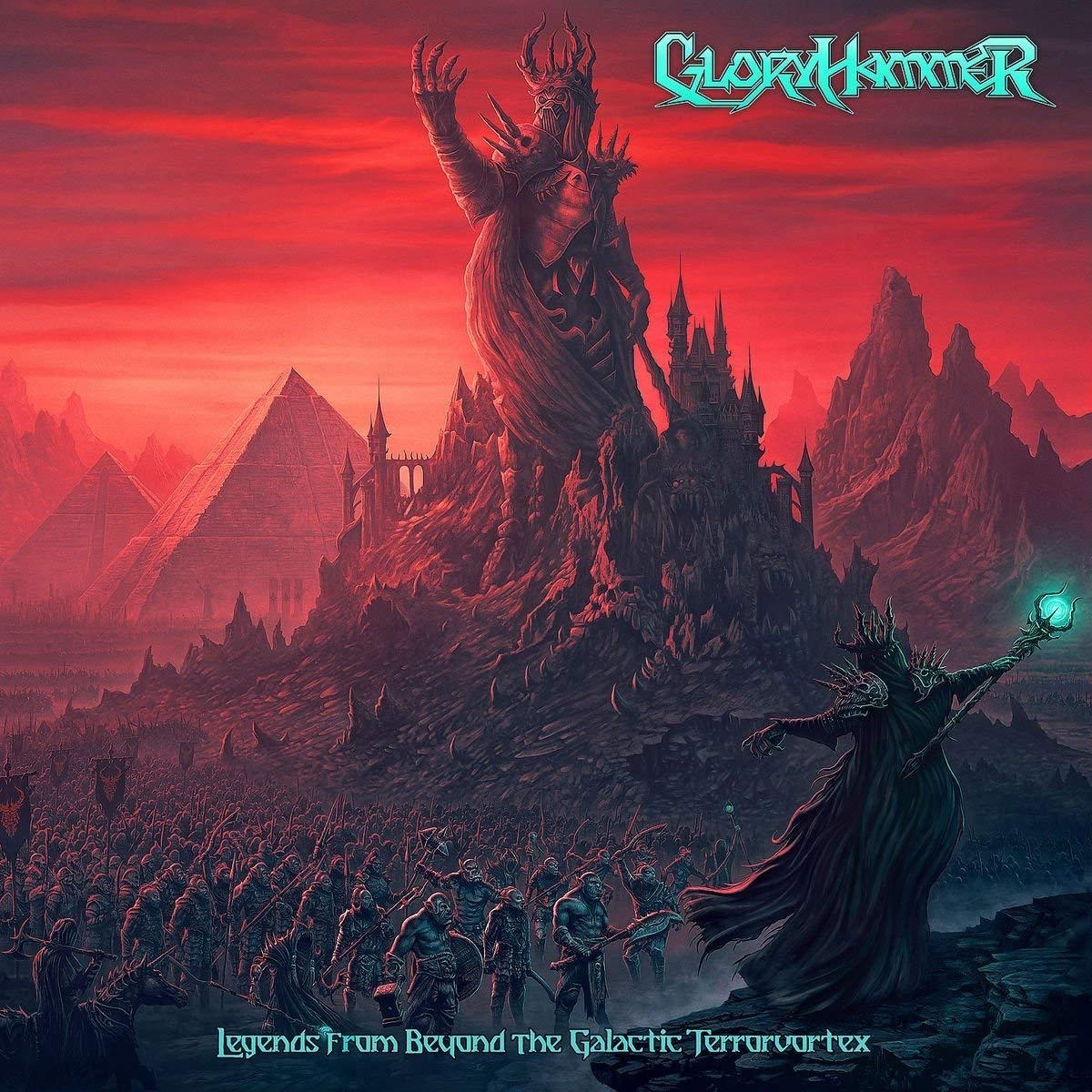 gloryhammer legends from beyond the galactic terrovortex album cover