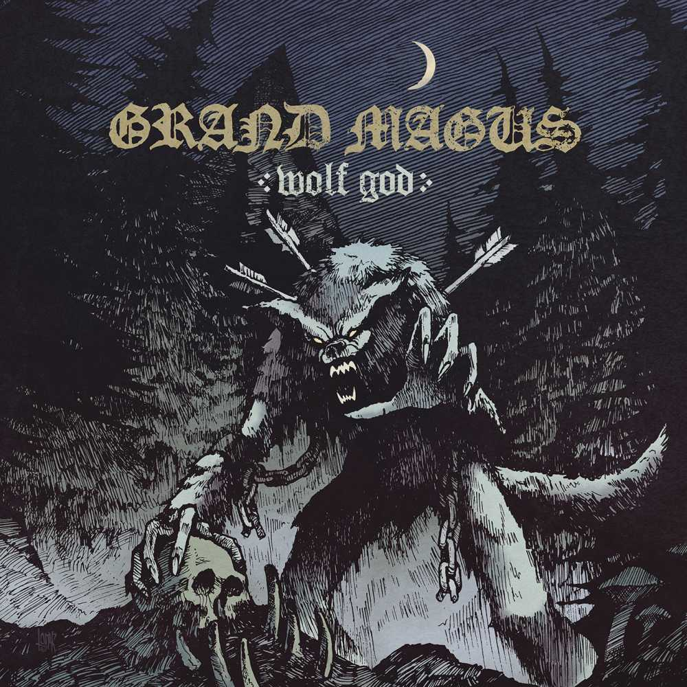 grand magus wolf god album cover