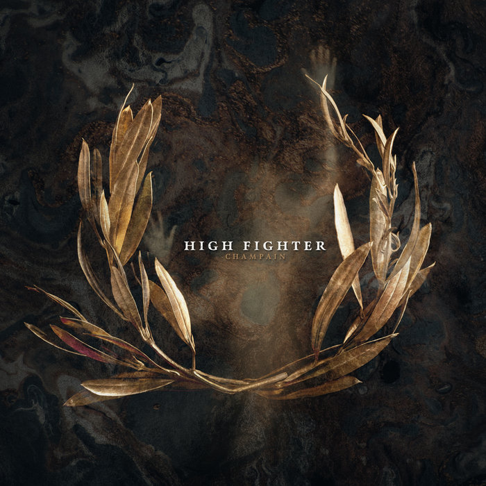 high fighter champain album cover