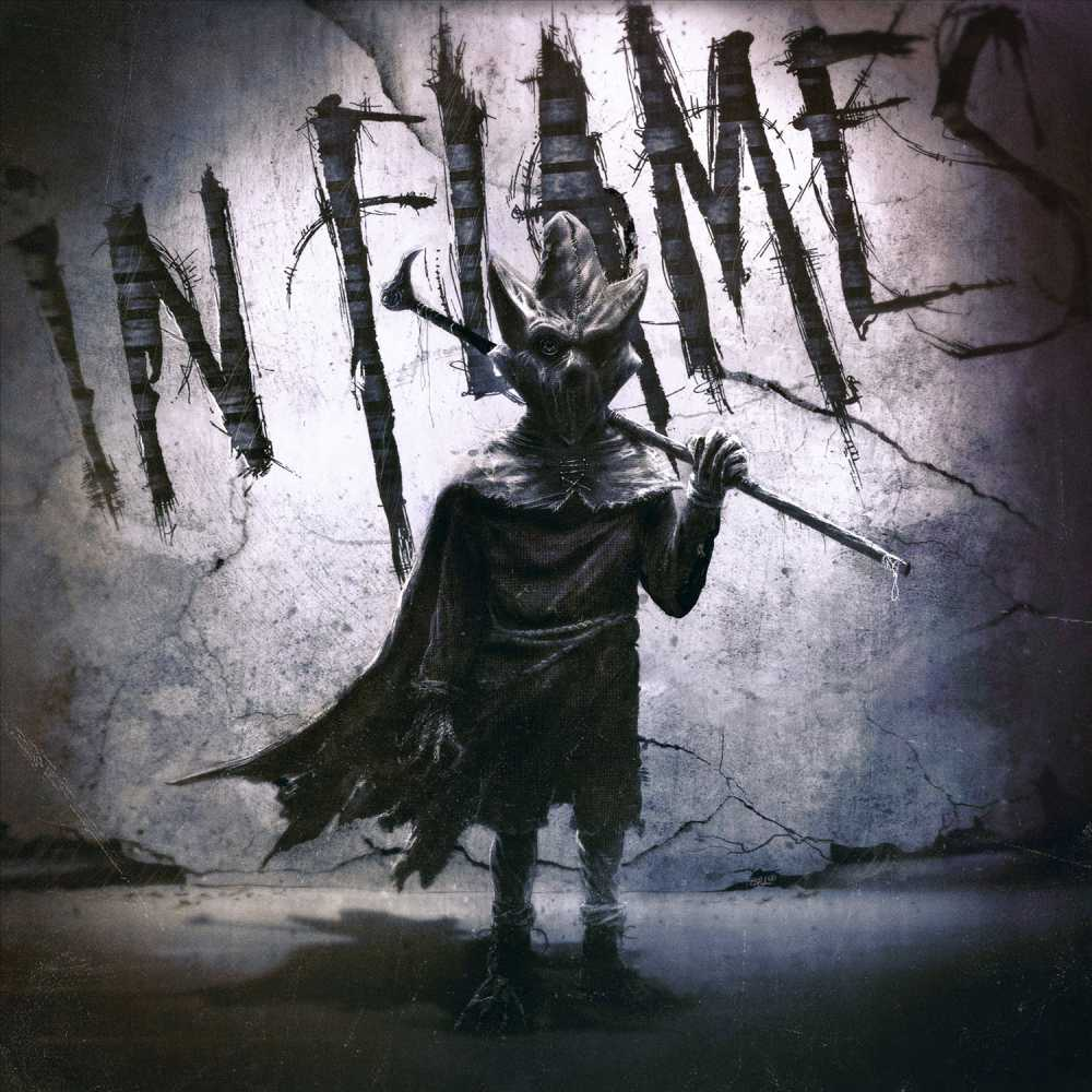 in flames i the mask album cover