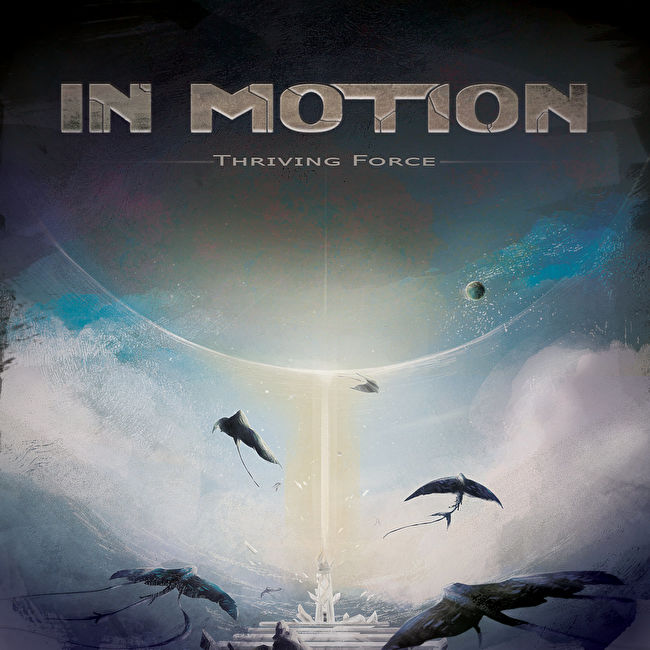 in motion thriving force album cover