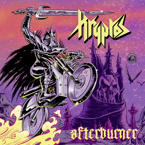 kryptos afterburner album cover