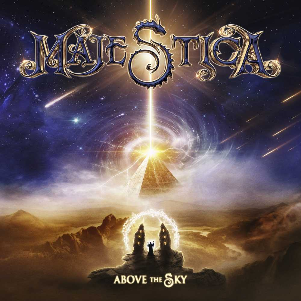 majestica above the sky album cover