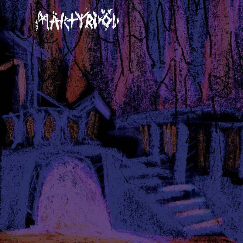 martyrdöd hexhammaren album cover
