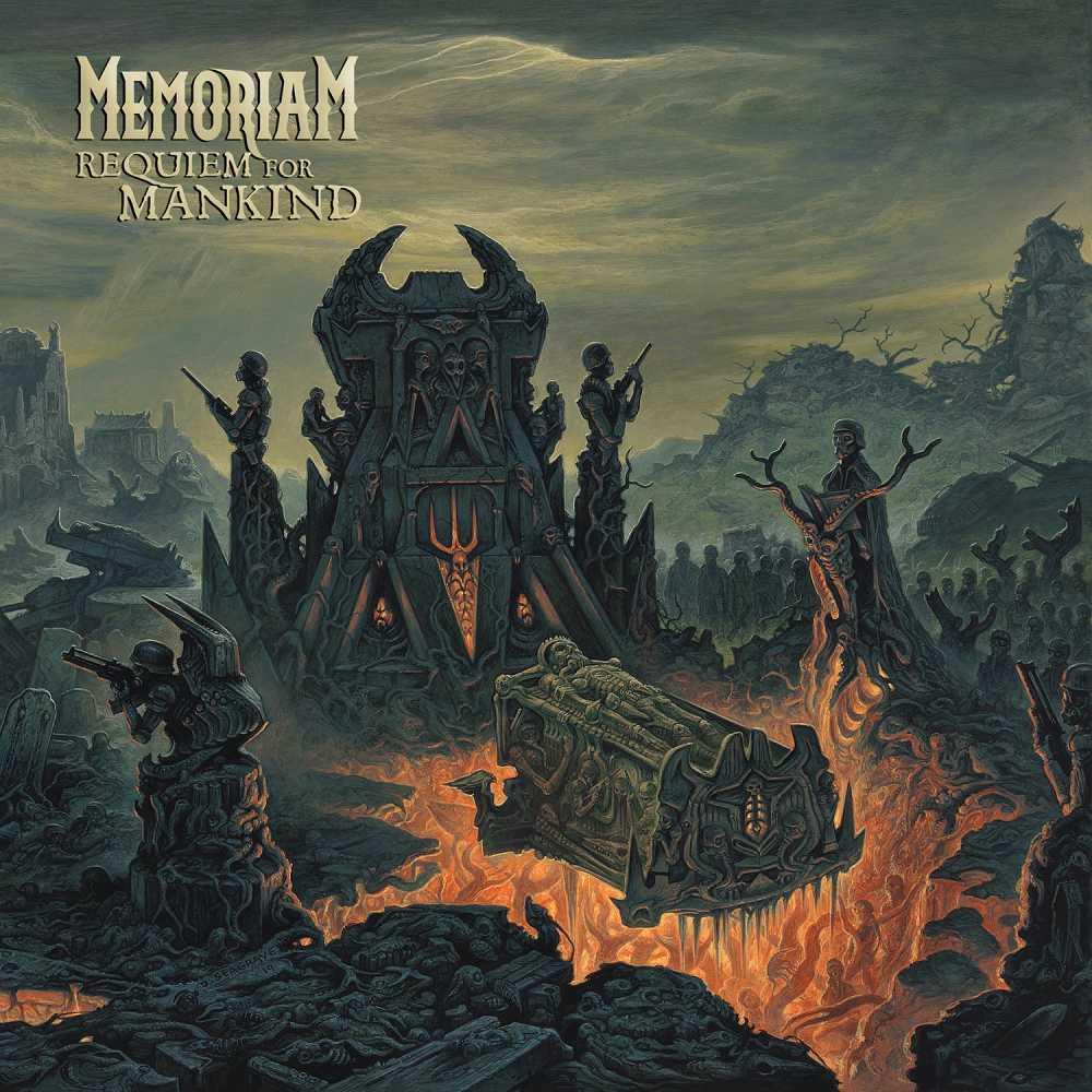 memoriam requiem for mankind album cover