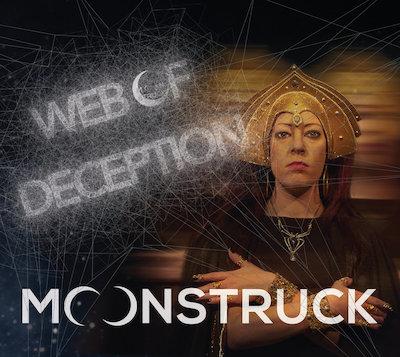 moonstruck web of deception album cover