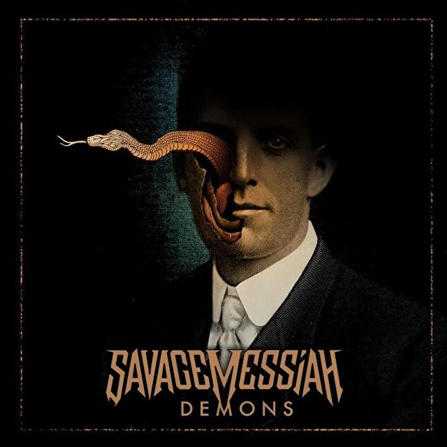 savage messiah demons album cover