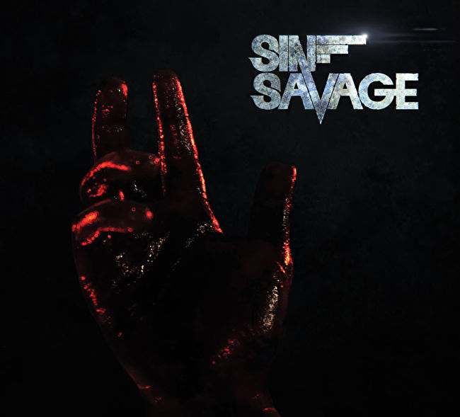 sin savage lost in the dark album cover