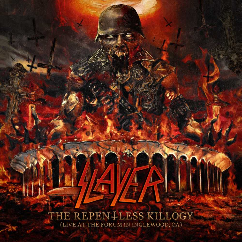 slayer the repentless killogy live at the forum in inglewood, ca album cover
