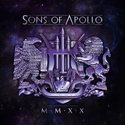 sons of apollo mmxx album cover