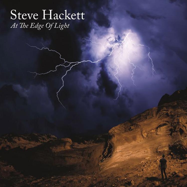 steve hackett at the edge of light album cover