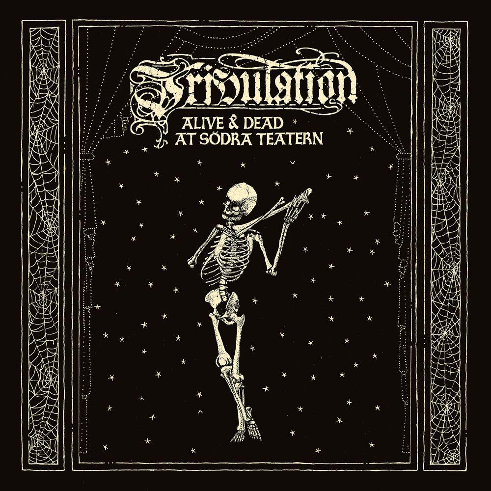 tribulation alive & dead at södra teatern album cover