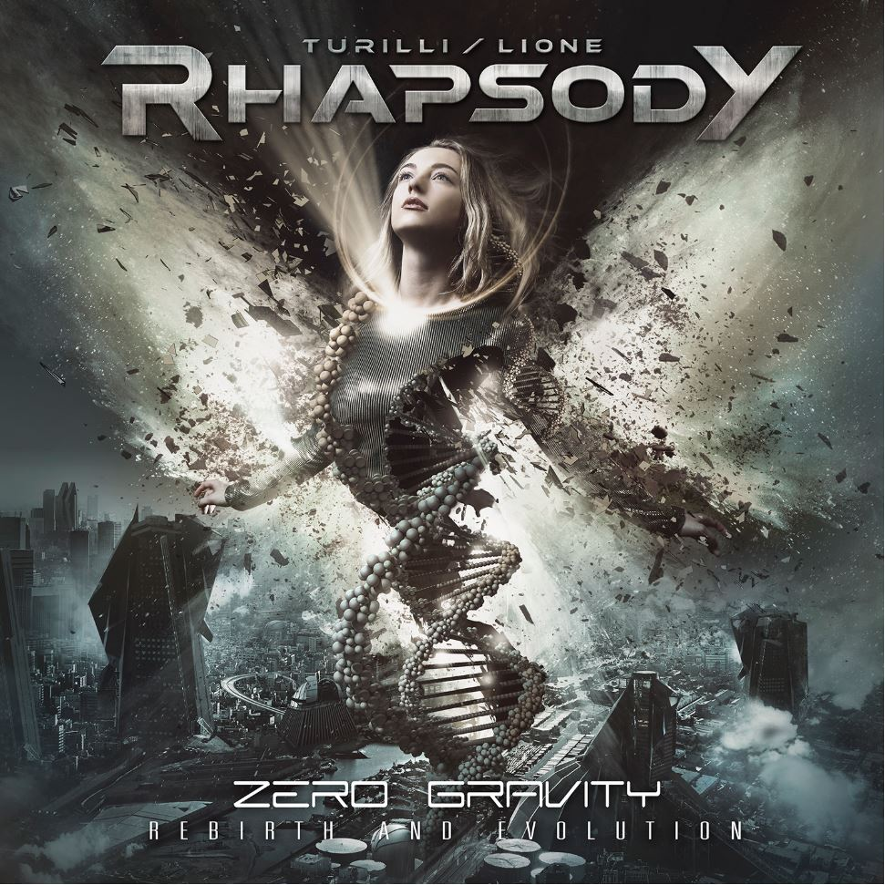 turilli lione rhapsody zero gravity rebirth and evolution album cover