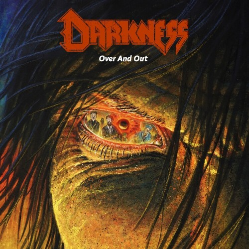 darkness over and out album cover
