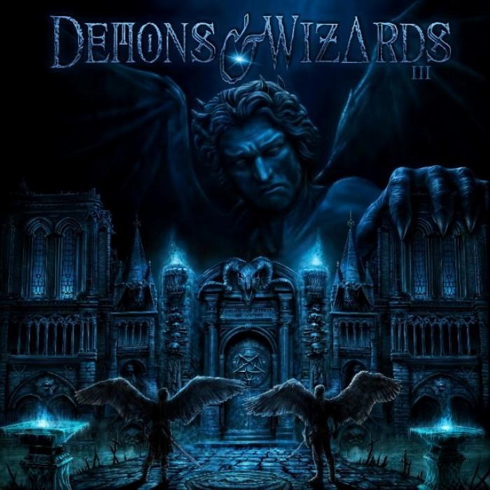 demons & wizards iii album cover