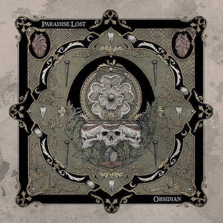 paradise lost obsidian album cover