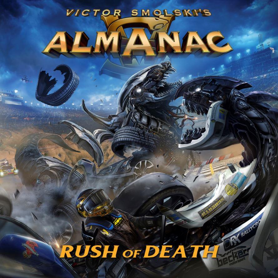 almanac rush of death album cover art
