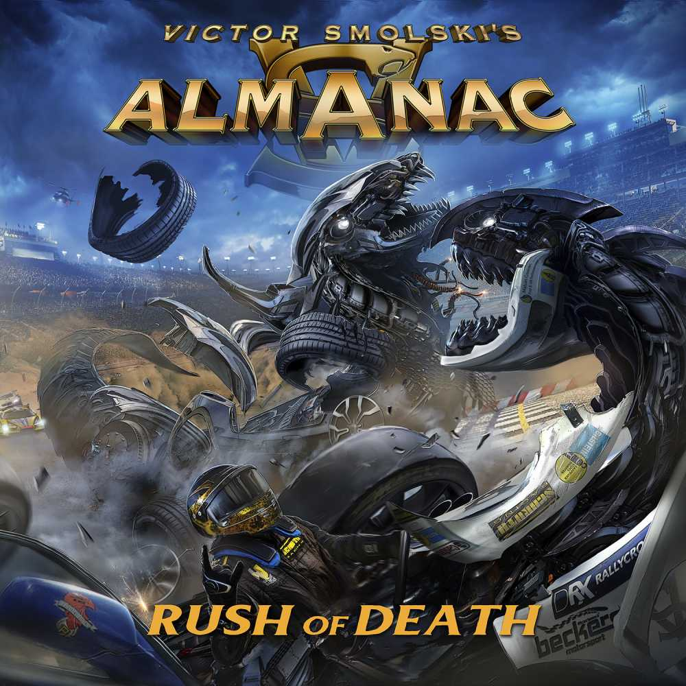 almanac rush of death album cover
