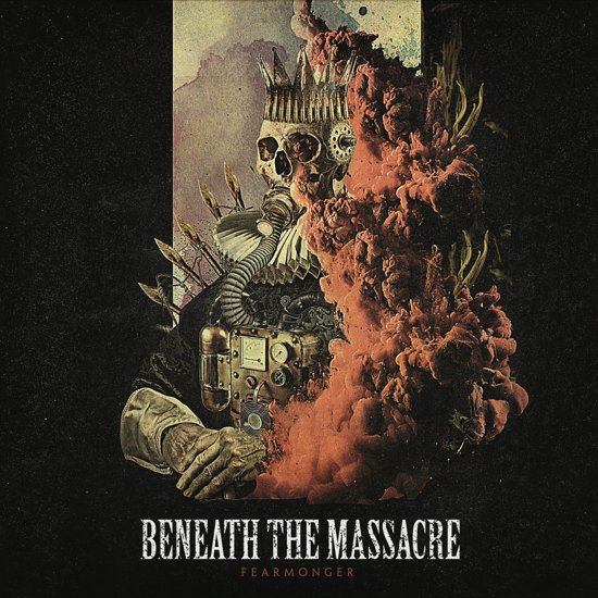 beneath the massacre fearmonger album cover