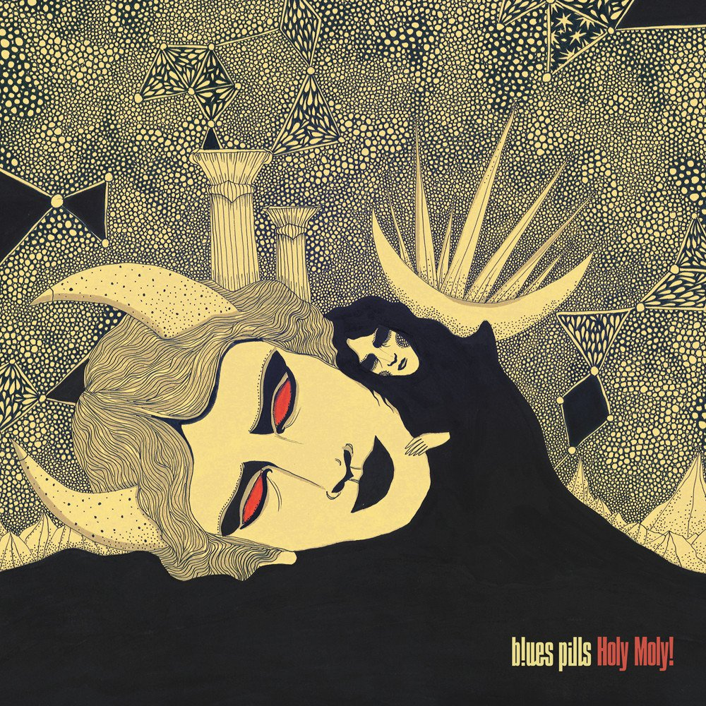 blues pills holy moly album cover