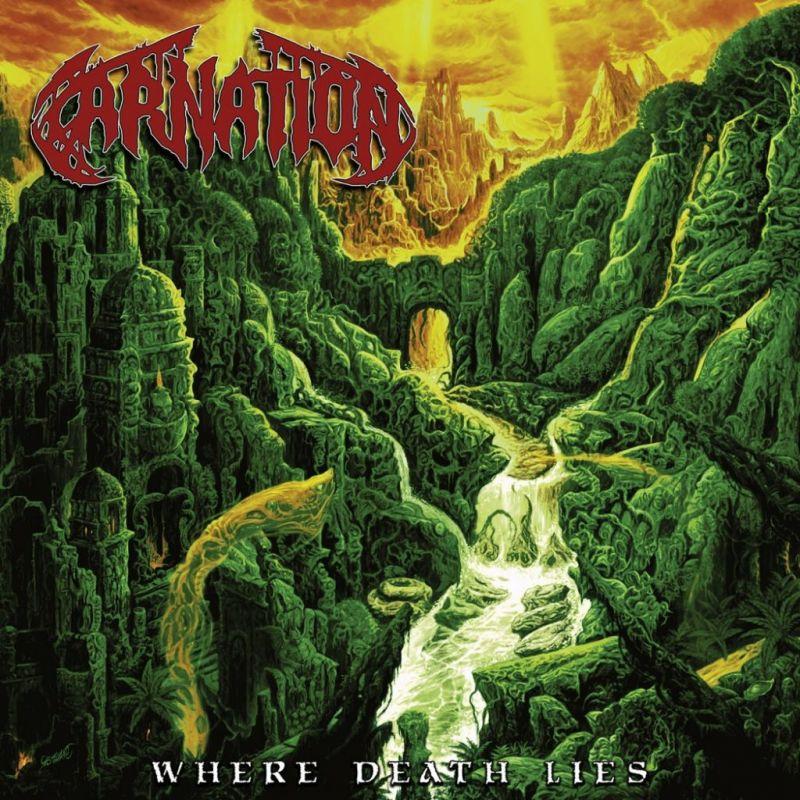carnation where death lies album cover