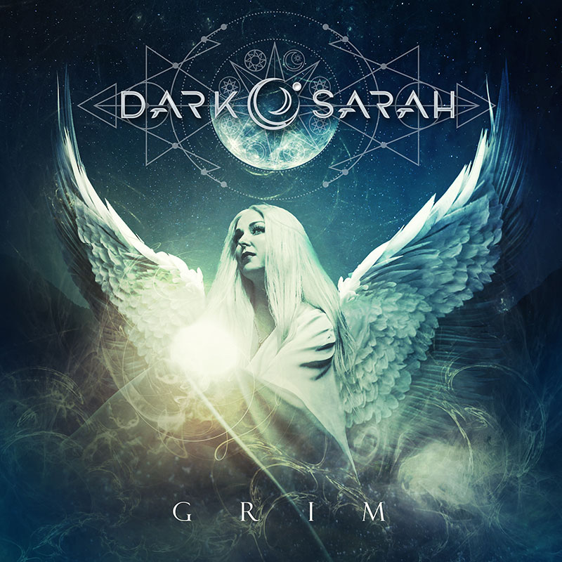 dark sarah grim album cover art