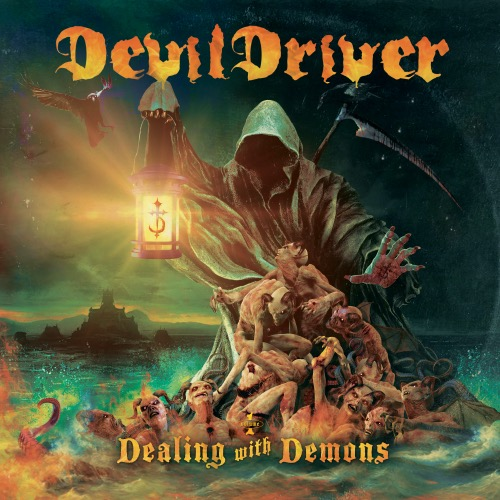 devildriver dealing with demons I album cover