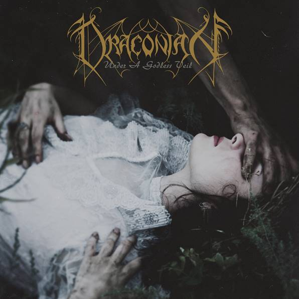 draconian under a godless veil cover artwork