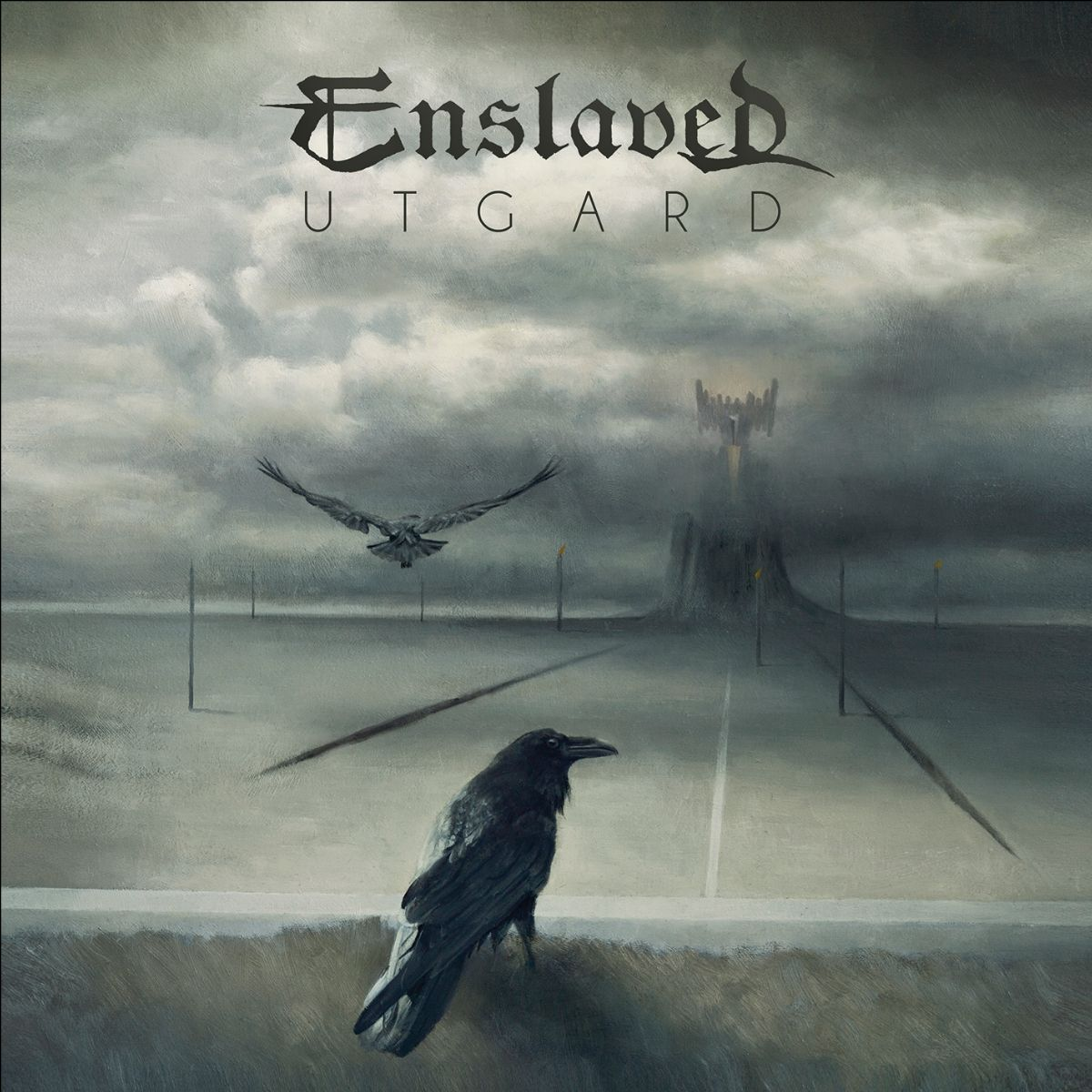 enslaves utgard album art cover