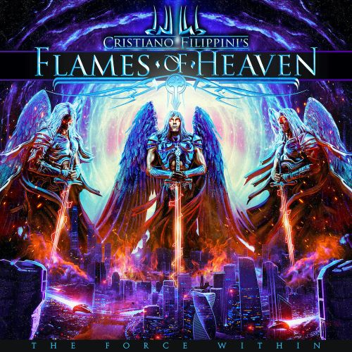 flames of heaven the force within album coverart