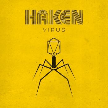 haken virus album cover