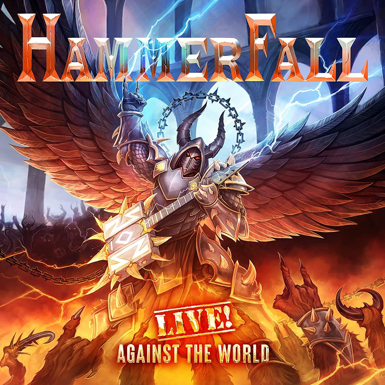 hammerfall live! against the world album cover