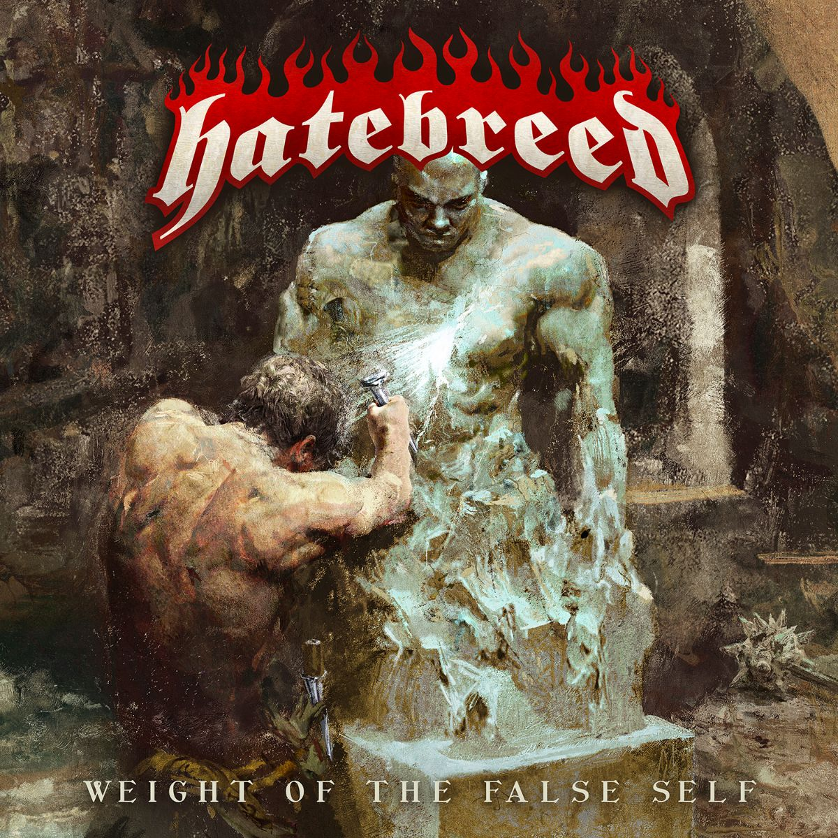 hatebreed weight of the false album coverart