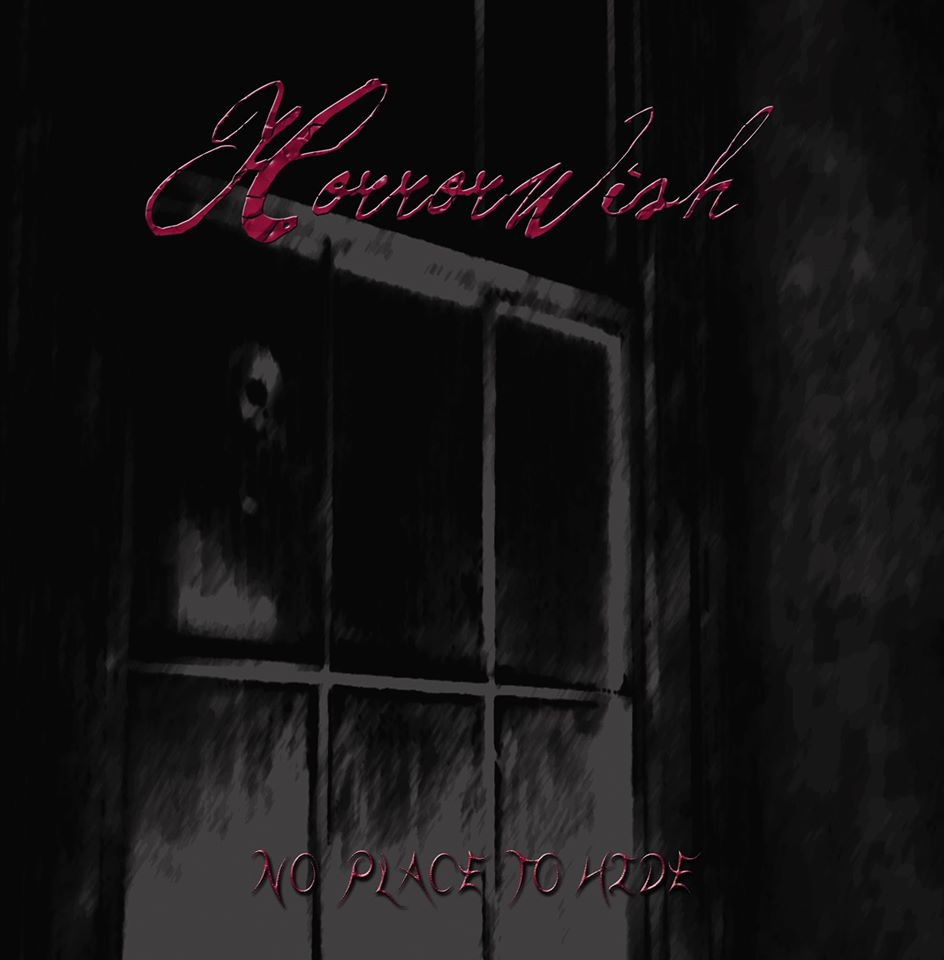 horrorwish no place to hide album coverart