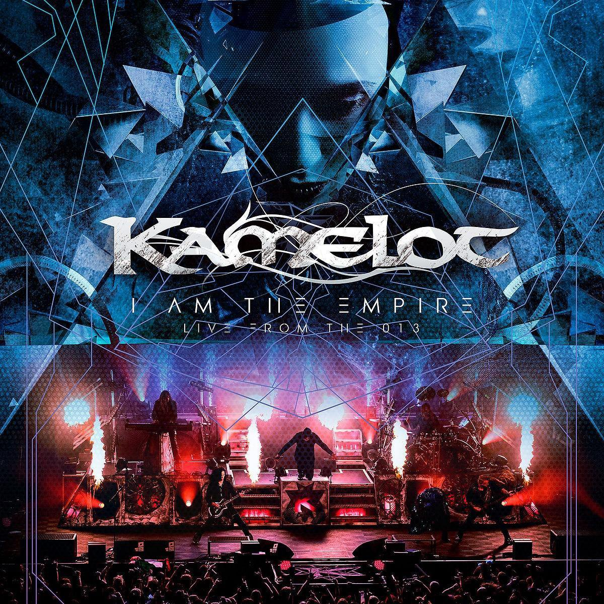 kamelot i am the empire live from the 013 album cover