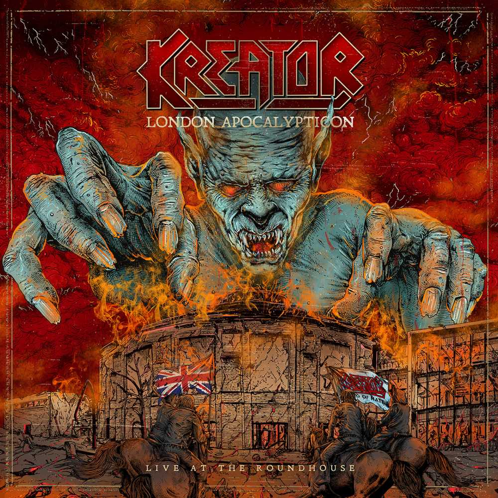 kreator apocalypticon live at the roundhouse album cover art