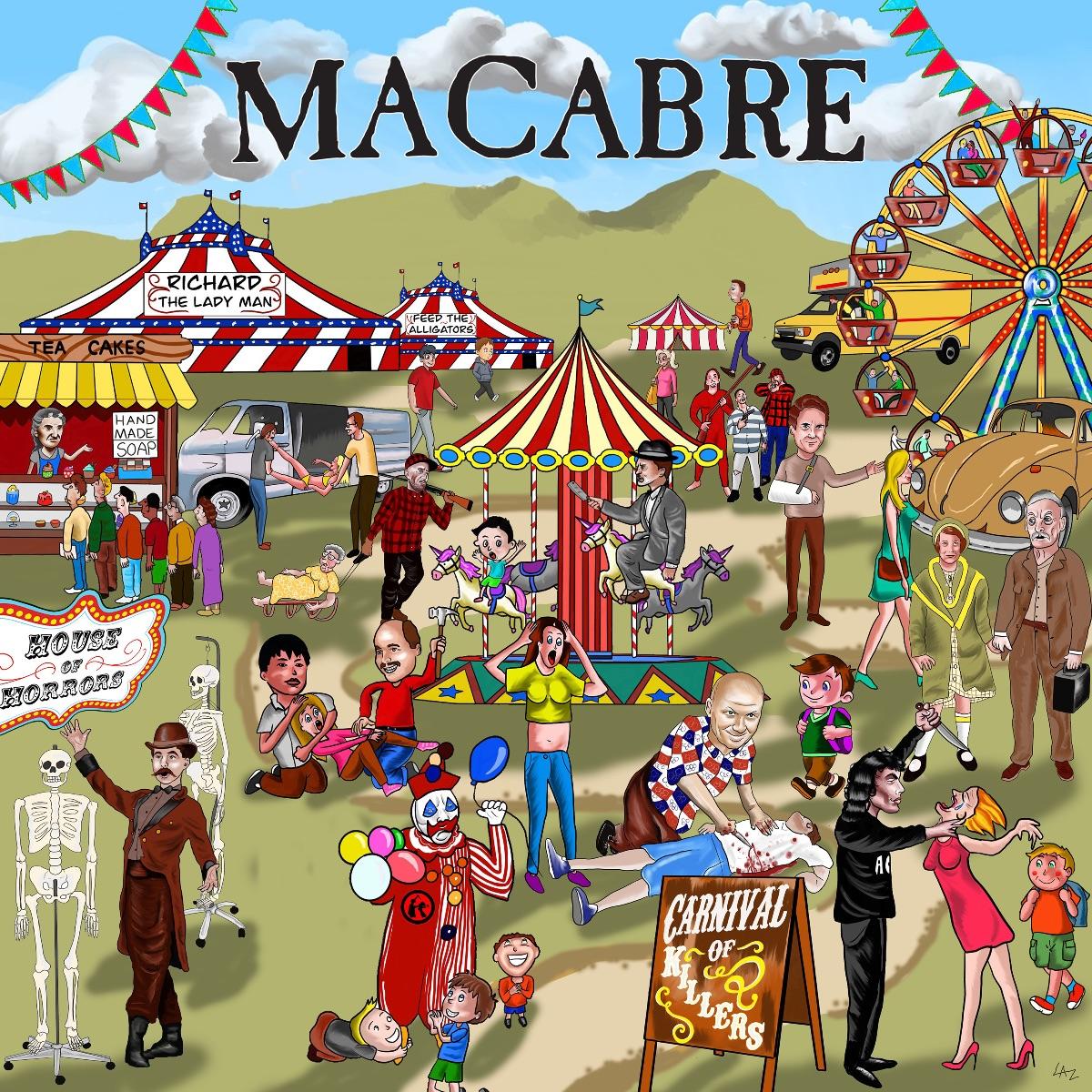 macabre carnival of killers album coverart