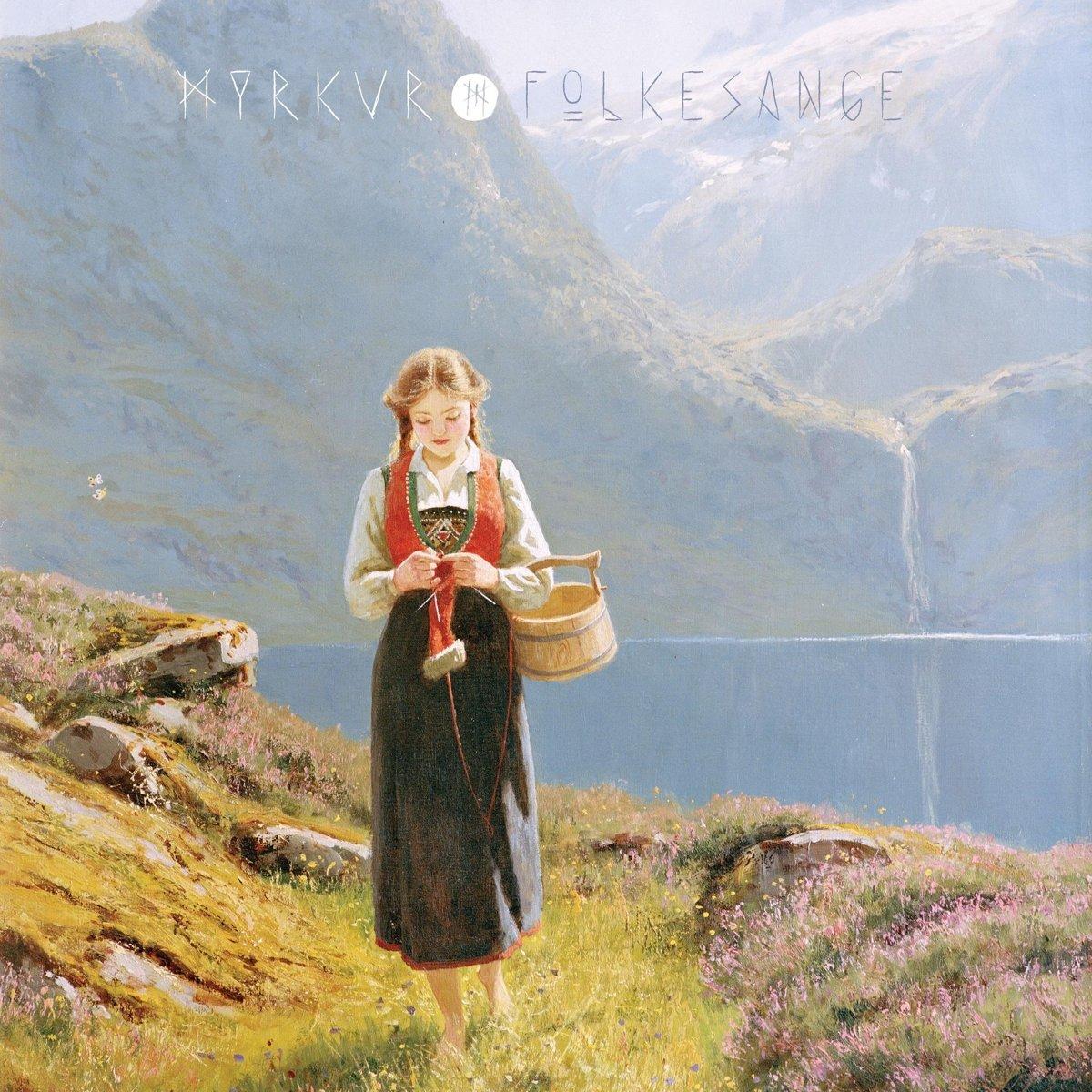 myrkur folensange album cover