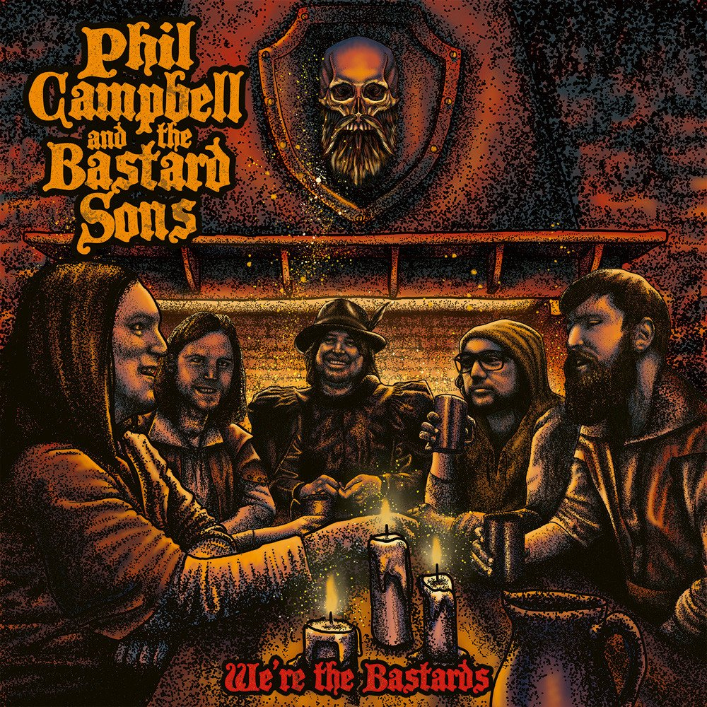 phil campbell and the bastard sons we're the bastards cover artwork