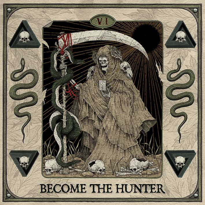 suicide silence become the hunter album cover